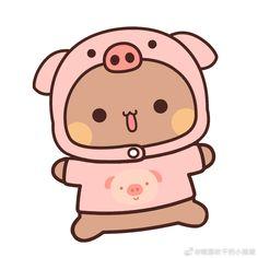 Cute Bears, Cute Images, Panda Bear, Hello Kitty, Gifs, Sugar, Wallpapers, Fictional Characters, Brown