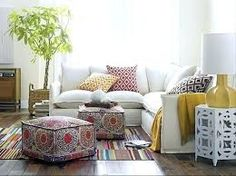 Captivating Sofa For Your Room Decoration Tree and white linen sectional sofa – Beeboats. For sitting room. Sectional Sofa Slipcovers, 2 Piece Sectional Sofa, Ottoman Slipcover, Pouf Ottoman, Fabric Ottoman, Sleeper Sofa, Diy Design, Interior Design, Interior Decorating