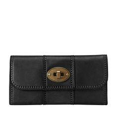 FOSSIL® Wallets:Women Vintage Revival Flap Clutch SL3976