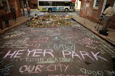 Tears and tributes at Virginia memorial for Heather...  Tears and tributes at Virginia memorial for Heather Heyer  Hundreds of purple-clad residents have packed a historic American theatre to remember the 32-year-old woman killed when a suspected white nationalist crashed his car into anti-racist demonstrators.  Heather Heyer a paralegal whom colleagues said was dedicated to social justice was killed in Charlottesville Virginia after clashes on Saturday between white nationalists attending a…