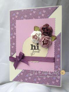 Handmade Card  Hi friend by LilsCardCraft on Etsy, $7.00