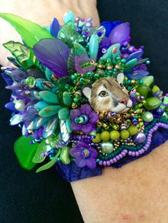 eserved for Cyndy.....On the Prowl by UniqueandMacabre on Etsy