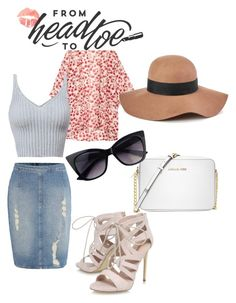"""Beachy keen"" by alyssab233 on Polyvore featuring Michael Kors, Calvin Klein, H&M, Reiss and Carvela"