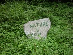 ....and God is Nature
