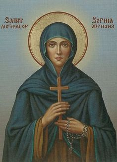 St. Sophia. A special saint for orphans.