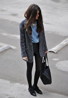 Black is my color! , Mango in Blazers, in T Shirts, Forever 21 (old) in Shorts, Massimo Dutti in Oxfords / Derbies