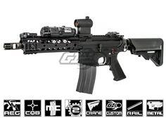 Airsoft GI Custom Full Metal M4 XRU CQB Carbine Airsoft Gun