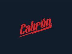 Cabrón by Manuel Cetina, via Behance