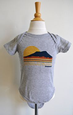 Vermont Scape Onesie Locally Grown Clothing Co 24 Gift Ideas