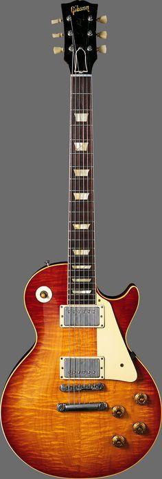 Gibson Les Paul Standard Cherry Sunburst http://www.vintageguitar.com/wp-content/uploads/hi-res/02-gibson-les-paul-1958-1brst.jpg