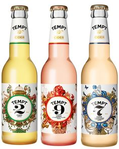 Tempt Cider Bottles http://theokmagazine.com/