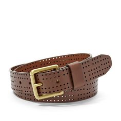 Fossil Perforated Belt