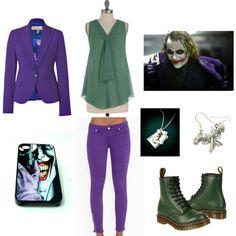 """Joker (Girl)"" by nagoya on Polyvore"