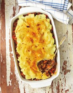 Shepherd's Pie from Allergy-Free and Easy Cooking by Cybele Pascal
