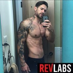 Back on @revlabs #revtest and feeling like Leonidus in the gym lately lol 😜👊💥. Tons of stamina, strength and overall better mental focus and health outside of the gym too. I'm 35, so naturally keeping my testosterone levels relative to my early/mid 20's is a godsend- as this supplement stimulates your body's natural production.  Go use my DISCOUNT CODE and save 25% off your order...💥💥💰💰 wbouch58 💰💰 at revlabs.com. | #revlabssupplements #revlabs #revlife #revfam #revedup #tattoos…