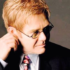 Elton John...I must say, this man is one of my music idols.
