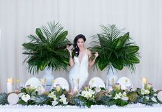 Creative Event Solutions transforms Airship37 event venue Toronto into a tropical oasis for this stunning styled shoot. If this style shoot was a short...