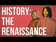 HISTORY OF IDEAS: The Renaissance - YouTube Using beauty and the charms of the world to inspire people to be better.
