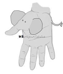 Hand and Feet Animals Safari Crafts