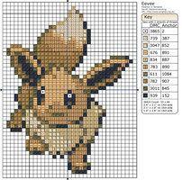 133 - Eevee II by Makibird-Stitching