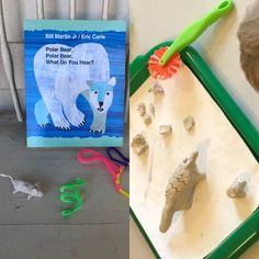 Fun with clay, pipe cleaners and animals! Bill Martin, What Do You Hear, Pipe Cleaners, Eric Carle, Process Art, Lesson Plans, The Creator, Art Projects, Preschool