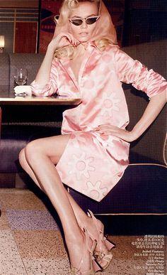 "Natasha Poly for Vogue China- ""I'll take Sweet n' Low, if ya have it."""