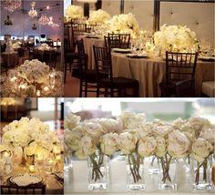 clean, flores brancas e rosa claro