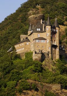 Katz Castle Germany - Rhine river tour.