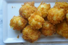 If a fried macaroni and cheese ball met a zeppoli and then converted to Judaism, their baby would be one of these fried kugel balls. They are sweet, g ...