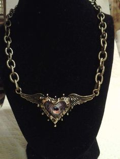 Angel Heart Necklace $25.00