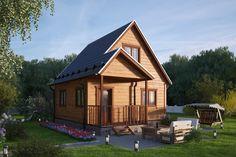 Каркасный дом «Вот он я!» от компании «Градодел»