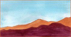 Desert Jewels. 4.25 x 8 watercolor on Arches 140 lb. cold pressed paper. © 2016 Sheila Delgado