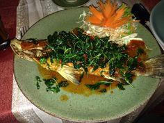 Deilig Thai-mat på Montien House på Koh Samui, Thailand. ******