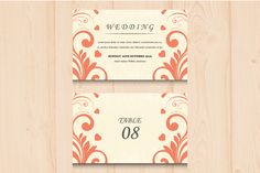 Wedding Invitation by @Graphicsauthor