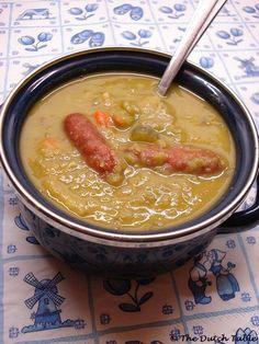 Erweten soep, yummy!