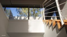 Gallery of House MP / Estudio GMARQ - 1 Commercial Architecture, Modern Architecture, Ground Floor Plan, Patio, Villa, Floor Plans, Stairs, House, Windows