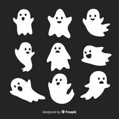 Halloween Icons, Halloween Drawings, Halloween Crafts For Kids, Halloween Stickers, Halloween Pictures, Diy Halloween Decorations, Cute Halloween, Holidays Halloween, Halloween Quotes