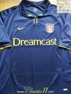 2000 01 Arsenal 3rd Football Shirt (XL). Arsenal Football ShirtArsenal  JerseyArsenal FcVintage ... cc961df66