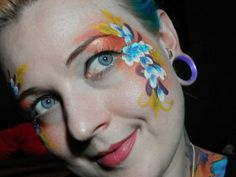 Butterflies, angels, wings, flower crowns & much more can be created using this simple technique which can be used for both  #facepainting & #nailart !  **Visit site for @Painted Mistress video #tutorial **   #makeupisart