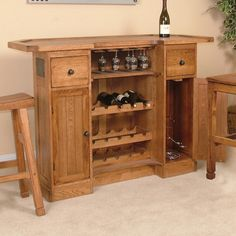 This matches the Bar we Have - Sedona Rustic Oak Bar by Sunny Designs - Wolf Furniture - Bar Pennsylvania, Maryland