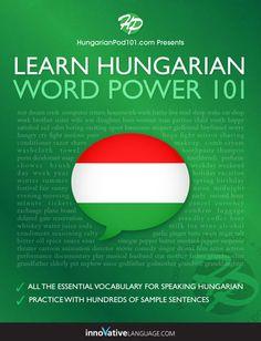 Learn Hungarian - Word Power 101 - Innovative Language Learning,...: Learn Hungarian - Word Power 101 - Innovative… #ForeignLanguages