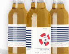 Malo Cider Packaging by Adrienn Nagy