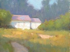 Painting a Day, Impressionist oil landscape study by artist Steve Allrich.