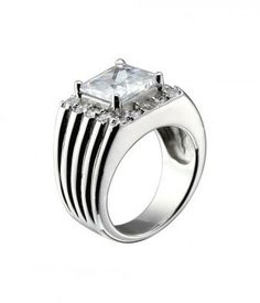 #followbest.com           #ring                     #Square #White #Cubic #Zirconia #Sterling #Silver #Ring                       Square White Cubic Zirconia Sterling Silver Ring                              http://www.seapai.com/product.aspx?PID=1467138
