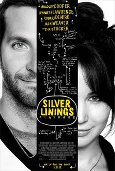 """Silver Linings Playbook"" (2012) starring Bradley Cooper, Jennifer Lawrence, Robert DeNiro & Chris Tucker"