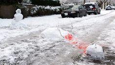 Famille Bonhomme de neige ...