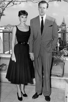 Audrey Hepburn, engaged briefly to James Hanson. circa 1951