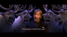 singalong to Kristoff's rock ballad now! Funny Prank Videos, Funny Short Videos, Funny Vid, Funny Disney Jokes, Disney Memes, Disney Quotes, Disney And Dreamworks, Disney Pixar, Frozen Jokes