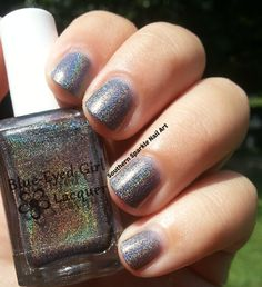Blue-Eyed Girl Lacquers I'm going through some… changes (Once More With Feeling collection V1) #blueeyedgirllacquer #begl #beglove #swatch #indiepolish