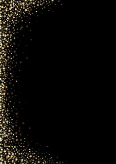 Black background with gold stars Premium Vector Black Background Wallpaper, Star Background, Glitter Wallpaper, Cute Wallpaper Backgrounds, Cute Wallpapers, Black Backgrounds, Vector Background, Invitation Background, Gold Stars